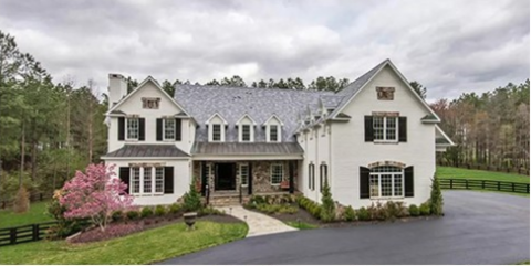 Grete Sadeiko partner  RG3's former mansion in Virginia.