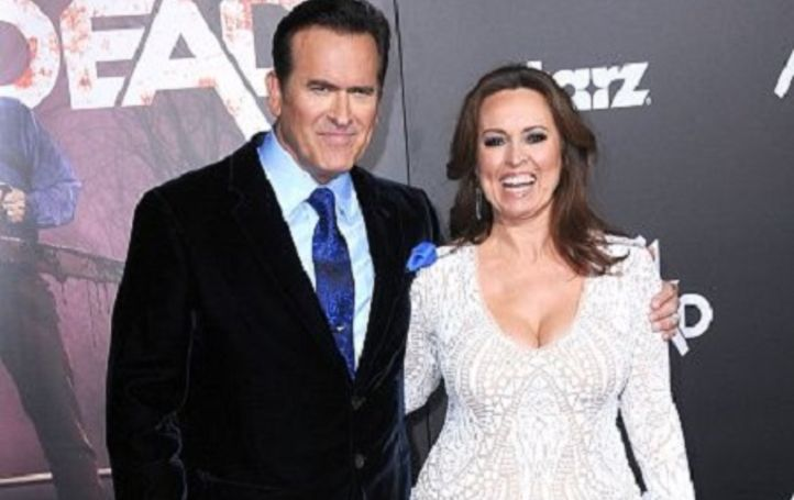 Ida gearon is married to Bruce Campbell since 1991