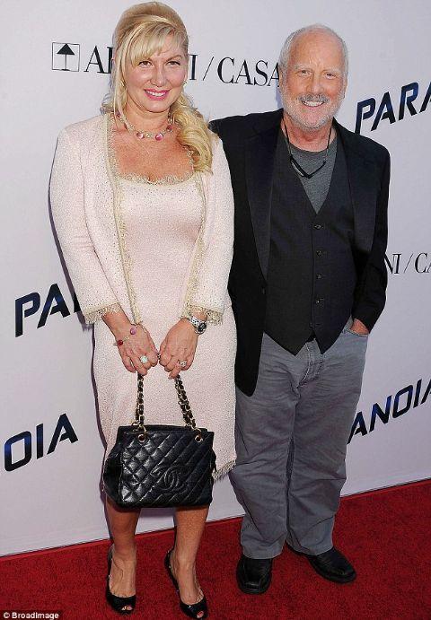 Richard Dreyfuss and spouse Svetlana Erokhin