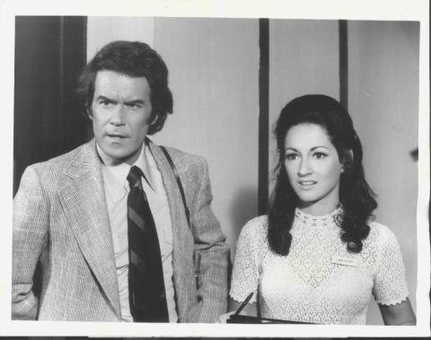 Laurence Luckinbill and ex-partner Robin Strasser