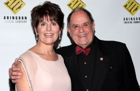 Laurence Luckinbill with his partner Lucie Arnaz