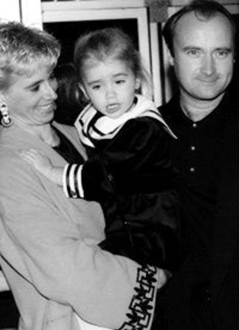 Jill tavelman married Phil Collin in 1990s