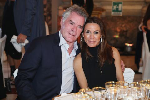 Ray Liotta with his lover Silvia Lombardo