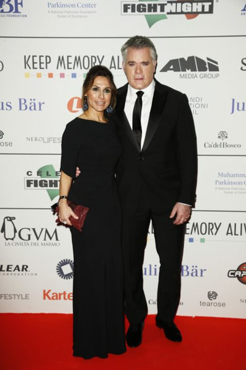Ray Liotta and ex-partner Michelle Grace