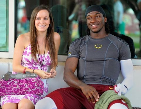 Robert Griffin III and former spouse Rebecca Liddicoat