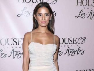 Rocsi Diaz is recently dating a singer, Joe