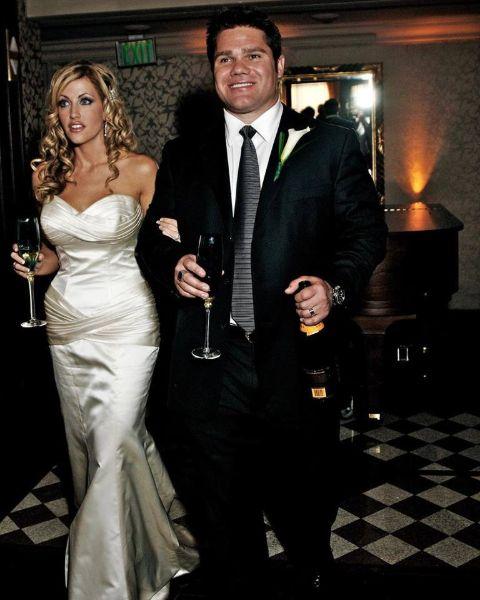 Stephanie Hollman and partner Travis Hollman