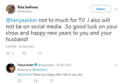 Tanya Acker is living a blissful married life