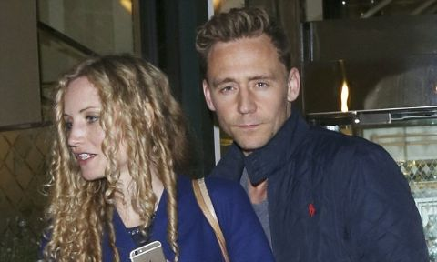 Suzannah Lipscomb was joined byt 35 year old actor, Hiddleston