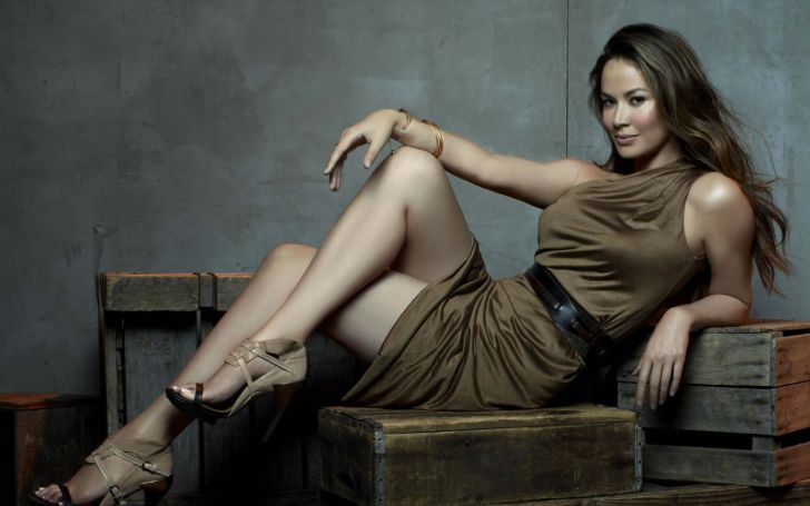 Moon Bloodgood shares a daughter and a son with her husband Grady Hall.