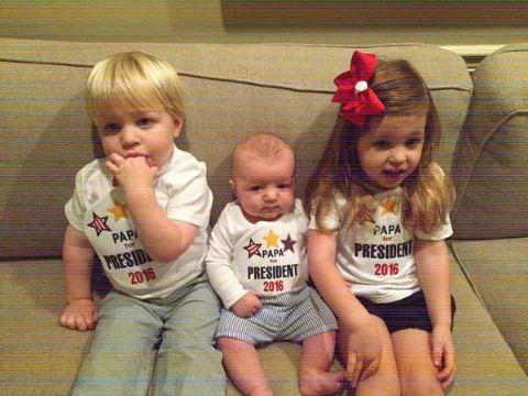 Bryan Chatfield Sanders has three children with wife Sarah Sanders.
