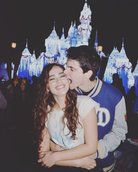 Mary Mouser and her lover Brett Pierce