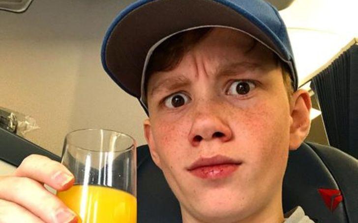 Macsen Lintz is 13 years old.