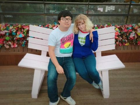 SungWon Cho is married to Annie Marie