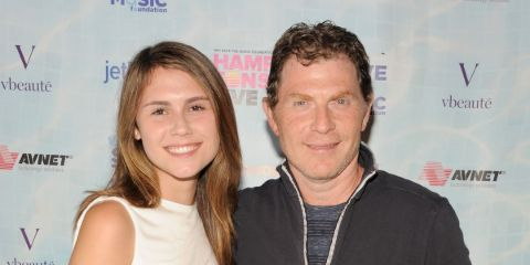 Father Bobby and Daughter Sophie Flay