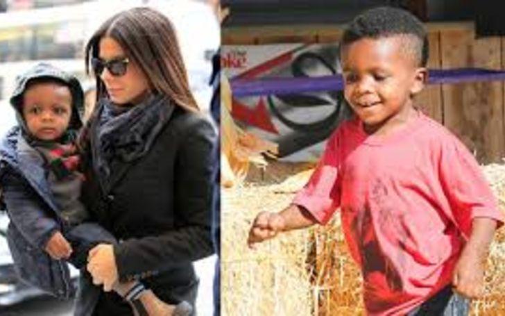 Louis Bardo Bullock is the son of Sandra Bullock.