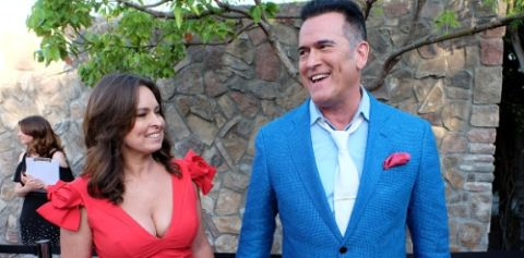 Ida Gearon is married to husband Bruce Campbell