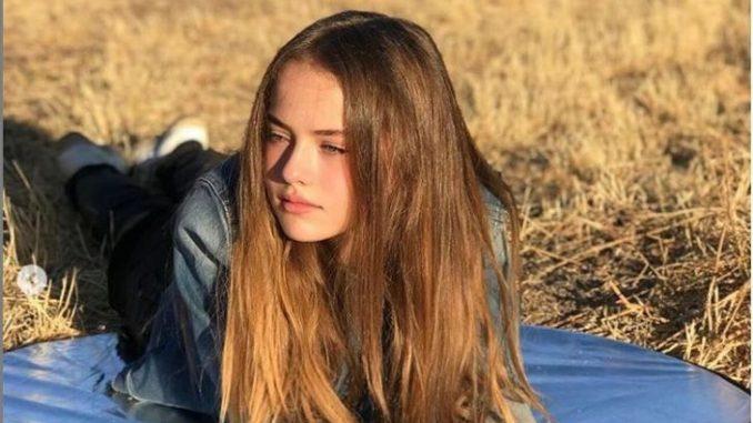 Kristina Pimenova is 13 years of age.
