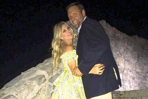 Scott Kluth and his partner Tinsley Mortimer have now broken up