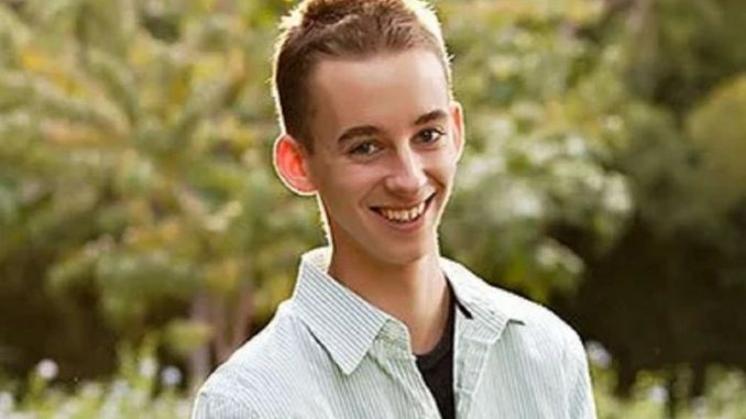 Sawyer Sweeten shot himself to death at the age of 19.