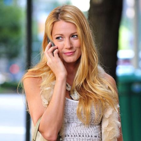 Blake Lively in 'The Gossip Girl'