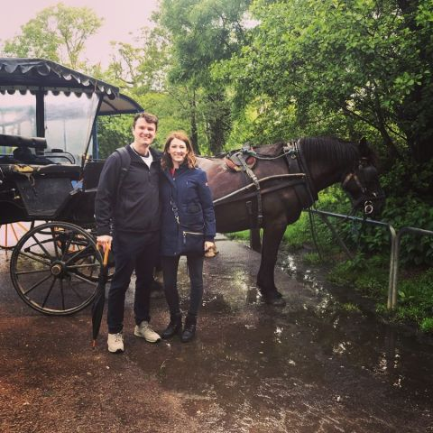 Katy Colloton went to Iceland and Scotland for vacation with her beau