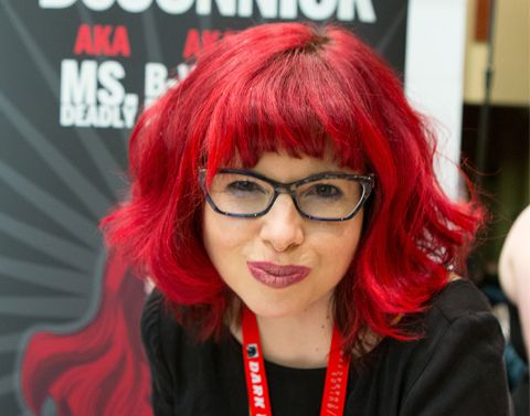 Kelly Sue DeConnick is married o the comic writer of marvel, Matt Fraction