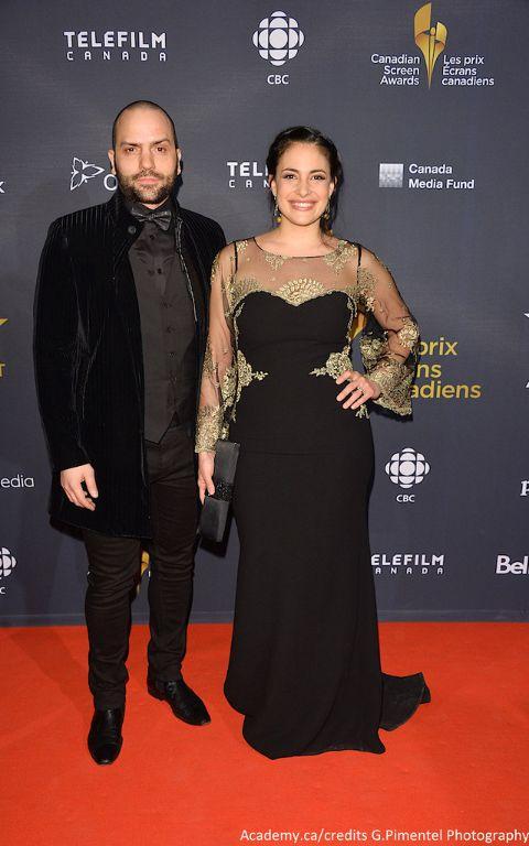 Nicola Correia Damude and her partner Carlos Gonzalez-Vio