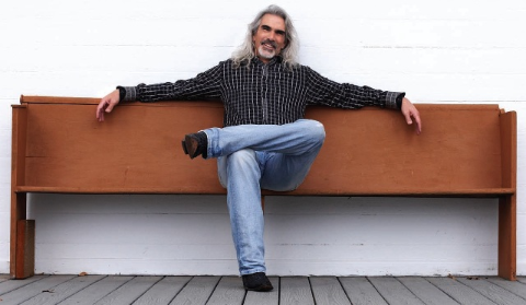 Guy Penrod's hair colors are unique with silver color