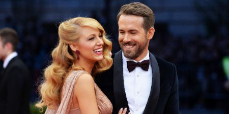 Blake Lively with her husband Ryan Reynold