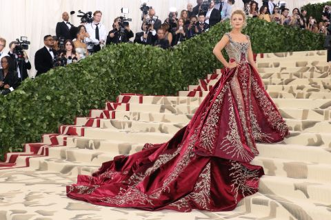 Blake Lively wore a $2 million worth of jewelry at Met Gala 2018