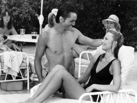 Scott Colomby and Cindy Morgan started dating in 1979.
