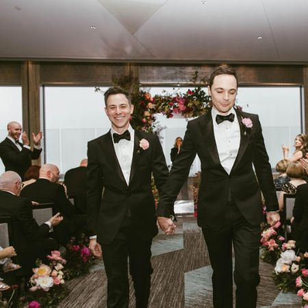 Todd Spiewak and Jim Parsons have been married for 2 years.