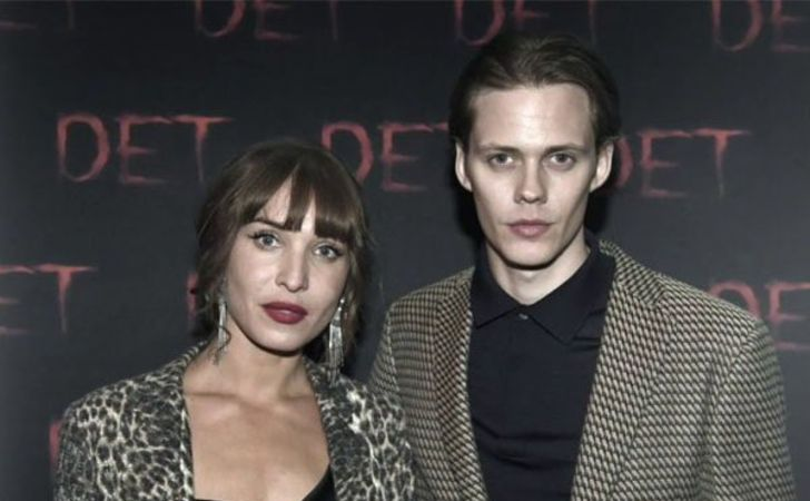 Alida Morberg is in a relationship with Bill Skarsgard.