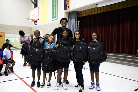 Youngster Kyree Walker is already valued net worth of $1 million through his immense basketball talent and is motivating kids in different schools with his story.