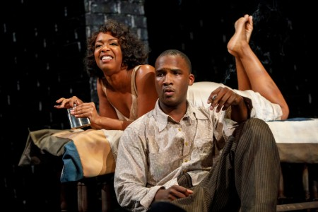 Jerod Haynes worked in a theatre before acting in movies