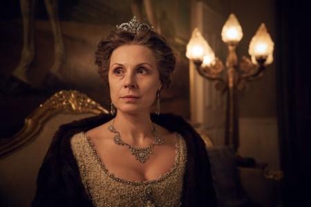 Dina Korzun played the role of Grand Duchess Izabella