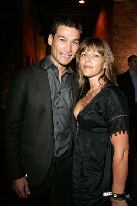 Vashti Whitfield started dating Andy in 1999.