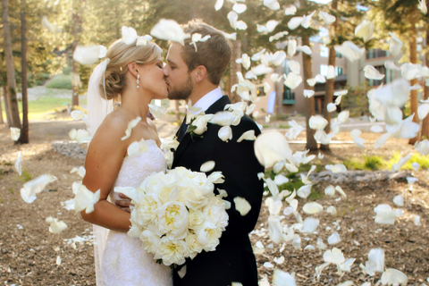 Max Thieriot  and his wife shared the wedding vows after dating several years.