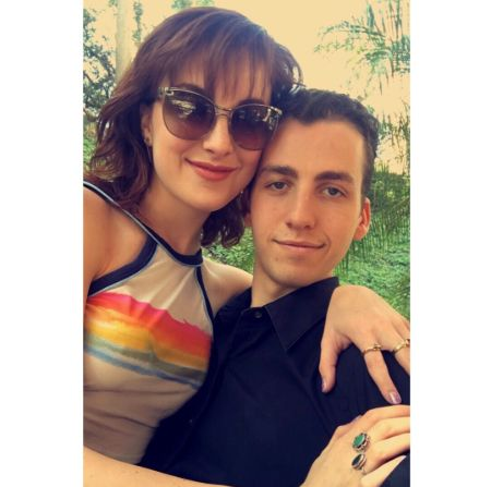 Juliette Goglia and Nick ended their relationship in 2018.