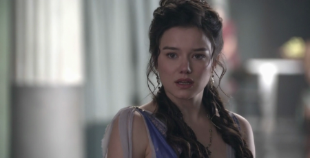 Hanna Mangan Lawrence acted in Spartacus