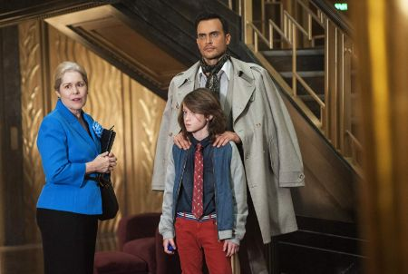 Christine Estabrook in American Horror Story along with her co-actors.