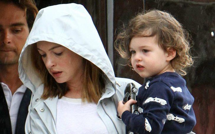 Anne Hathaway's son Jonathan Rosebanks Shulman is Growing Up in Luxury; His Lifestyle!
