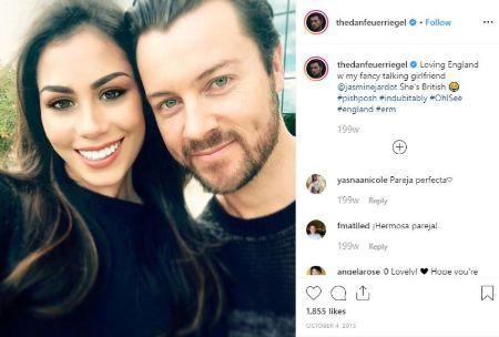 Dan Feuerriegel missed Jasmine's birthday on 2019