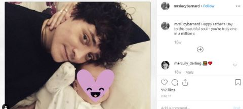 Aneurin Barnard and his wife are living a happy life.