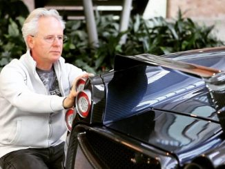 Horacio Pagani is married and has two sons