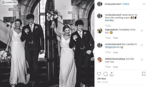 Aneurin Barnard is living a happy married life.
