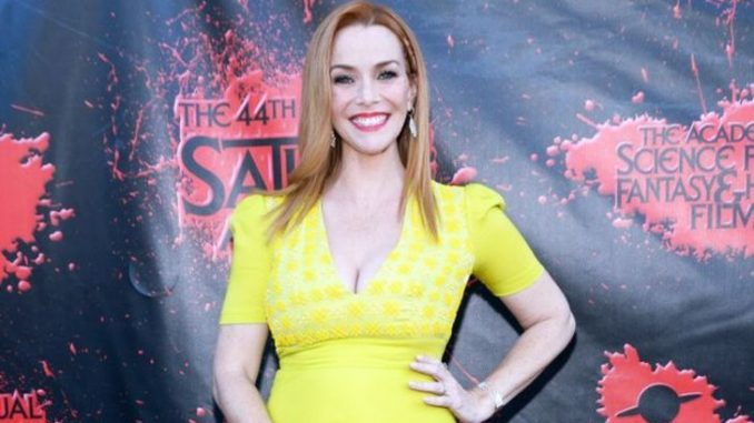 Annie Wersching is a married woman and wife of Stephen Full.