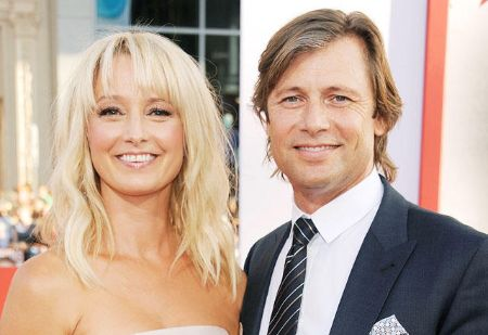 Katherine LaNasa and Grant Show exchanged marital vows in August of 2012.