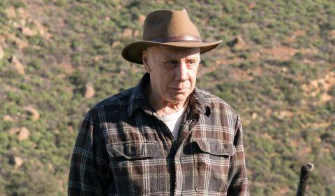 Dayton Callie in a cowboy hat.